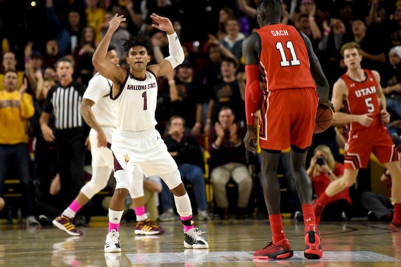 Men's basketball vs Utah 0001