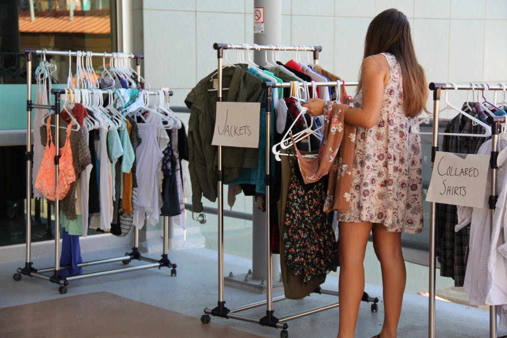 Video: Clothing exchange brings a greener alternative to traditional  shopping - The State Press