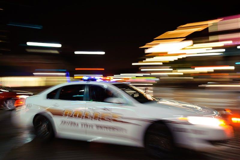 ASU Police cruiser