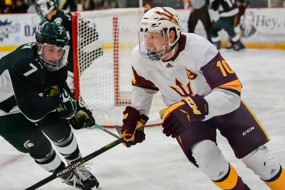 Arizona State Completes Series Sweep Over Michigan State
