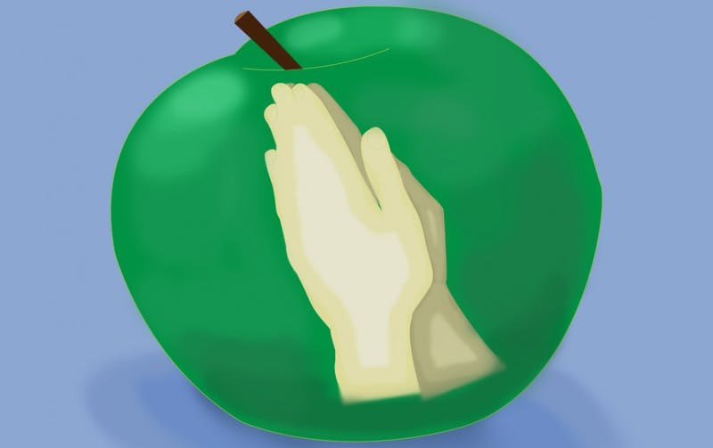 apple and prayer hands.jpg