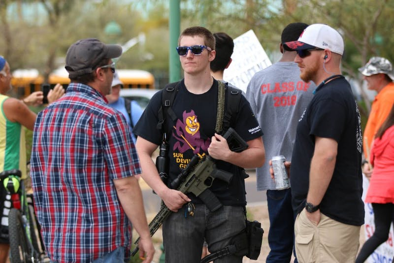 ASU student with gun