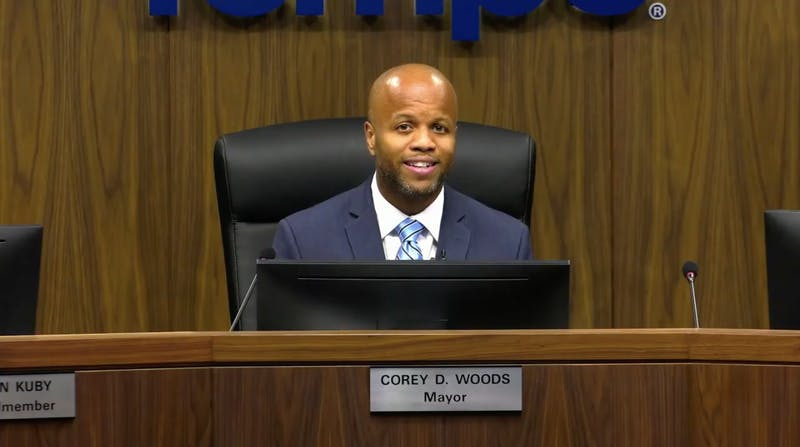 Corey Woods State of the City address