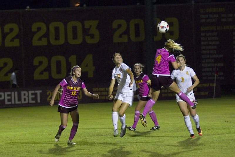 Photo Gallery: ASU soccer shut-out by USC
