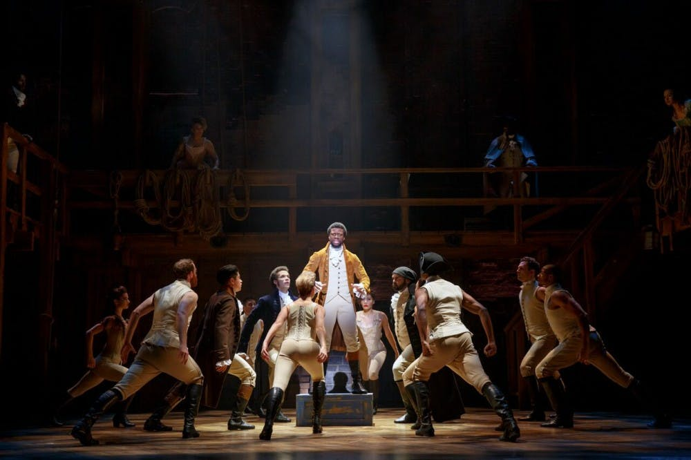 Hamilton Company -  HAMILTON National Tour (c) Joan Marcus_preview