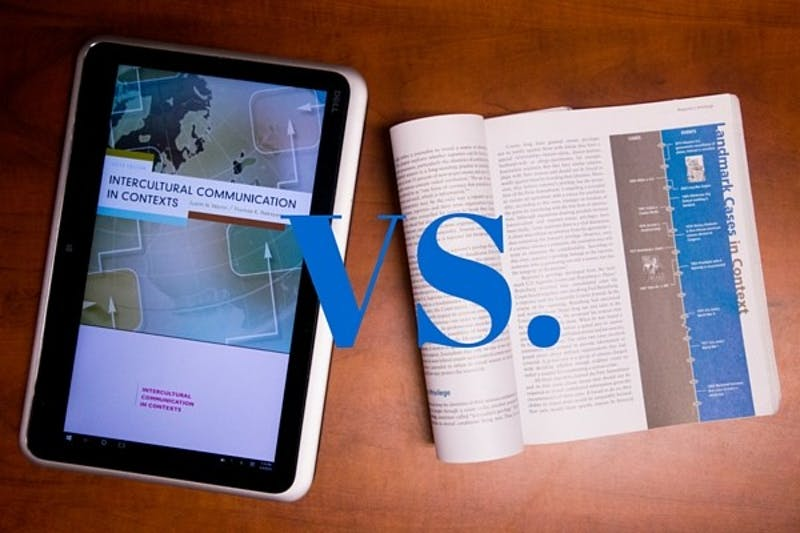 Ebook VS textbook
