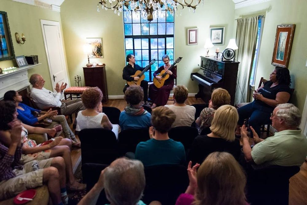 Husband and wife guitar duo visit ASU for a night of
