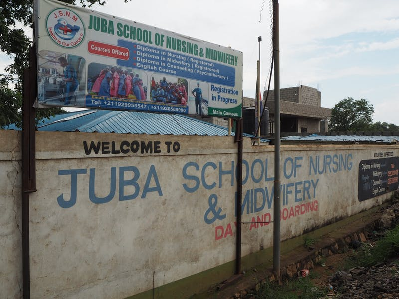 20190705 Juba School of Nursing and Midwifery
