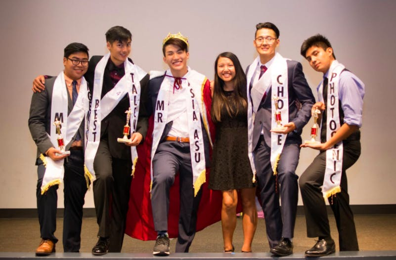 Mr. Asia ASU Pageant 2016