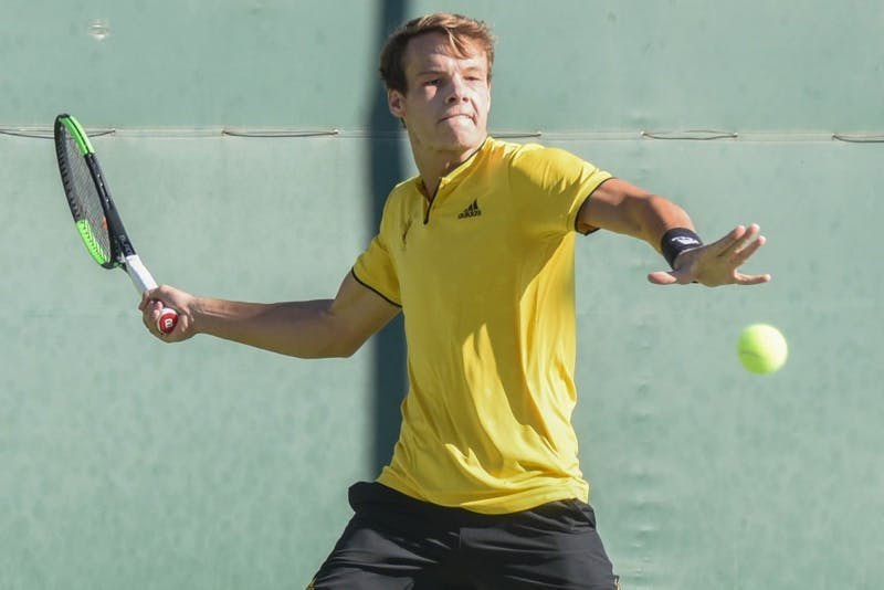 ASU men's tennis defeated by Duke in its returns to the ...