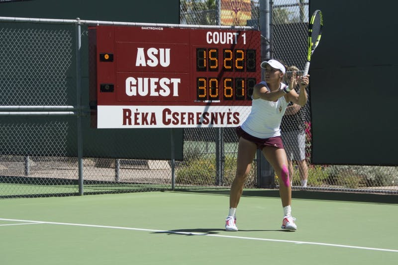 Tennis vs Washington State VII