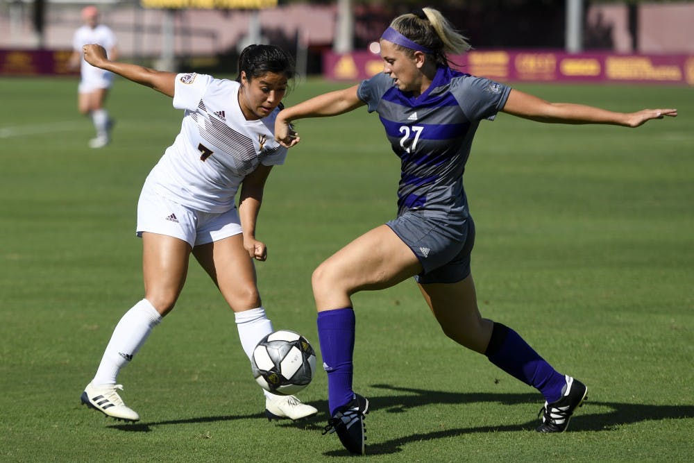 promo code 0491b 1ce26 ASU women's soccer loses 4-1 against UCF - The State Press