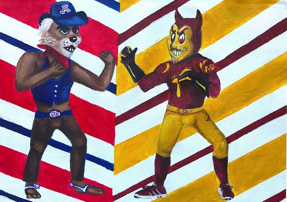 5f727e27e UA Wildcats make their mark in ASU Sun Devil country - The State Press