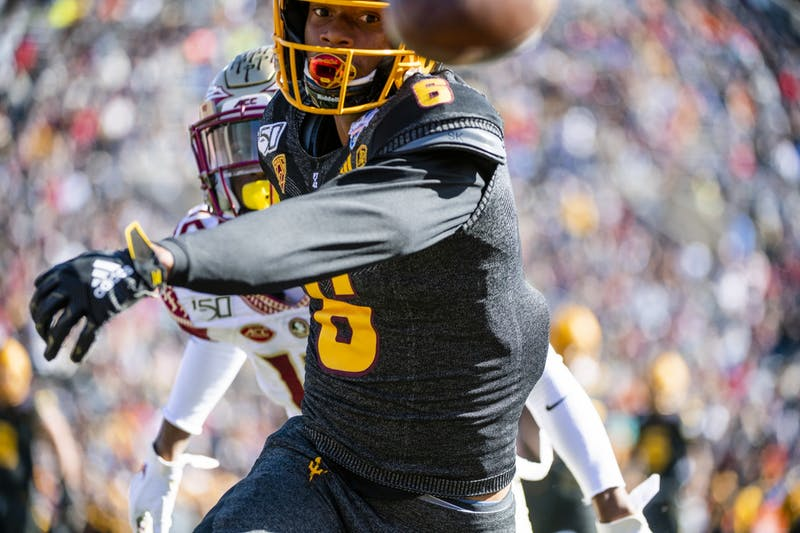 Gallery: ASU takes on Florida State in the Sun Bowl