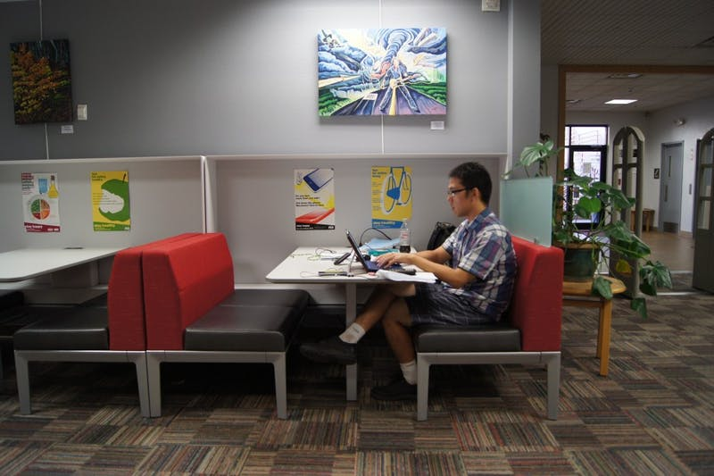 Polytechnic library student