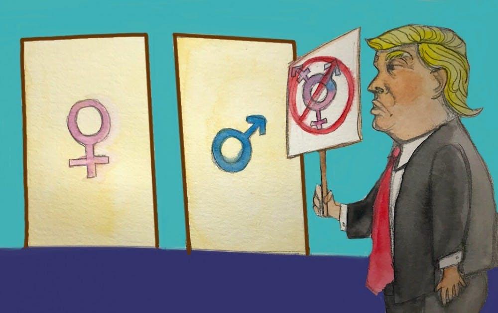 Trump vs. Transgender Rights Nov 4.