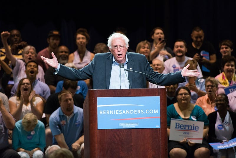 Bernie Sanders rally 002