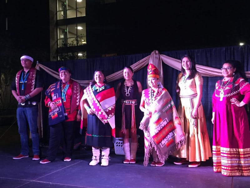 Mr. and Miss Indian ASU Contestants 2017