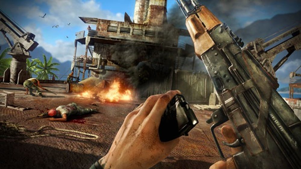 Far Cry 3 Takes Gamers On New Insane Adventure The State Press