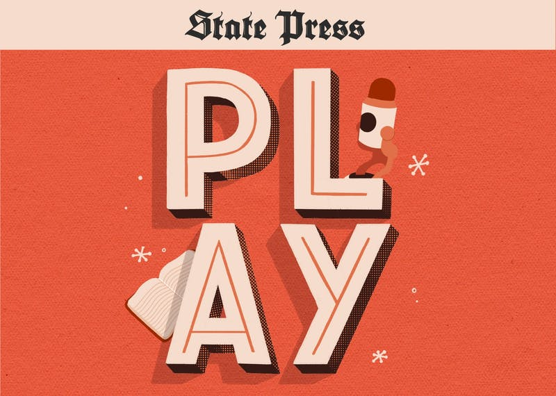 The State Press Play Podcast logo.