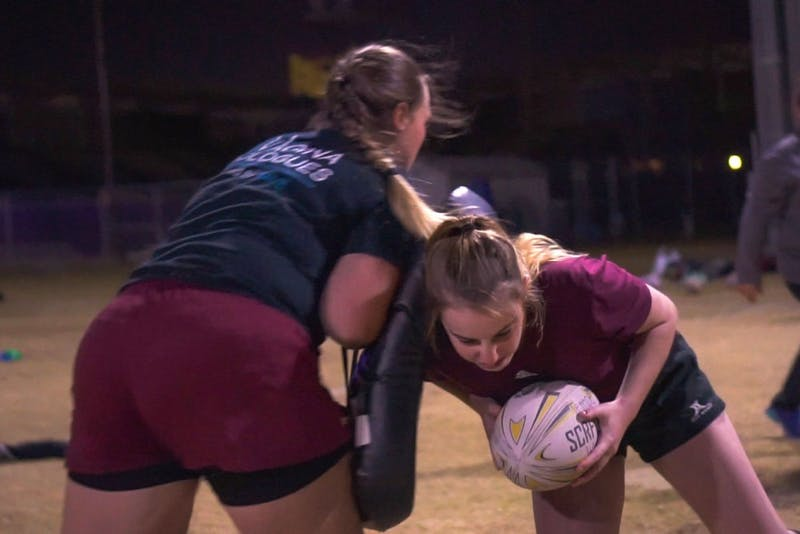 Video: ASU women's rugby team tackles struggles as they grow larger