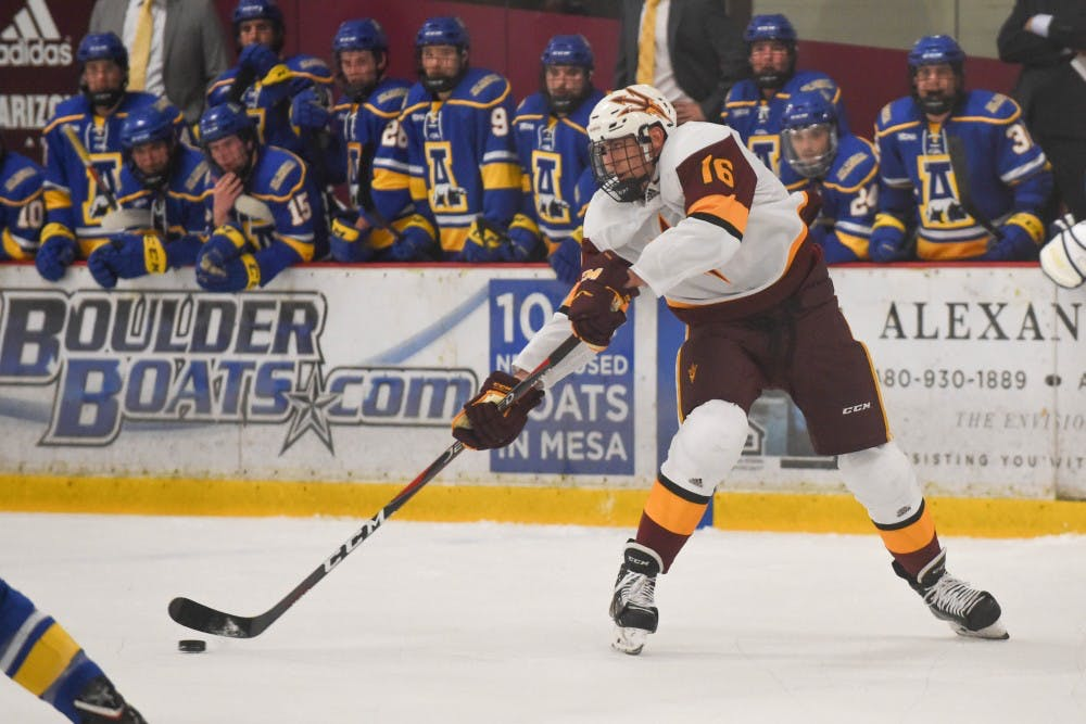 ASU Mens Hockey vs Alaska Fairbanks-18-1