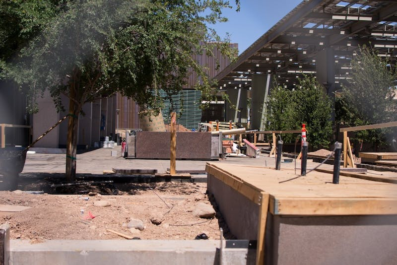 What's going on with all the construction around Tempe?