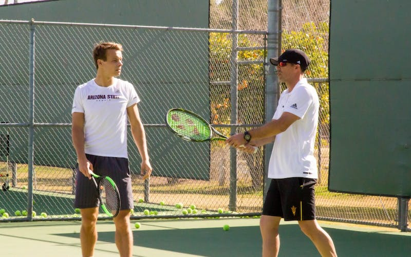 Matt Hill Coaches Michael Geerts