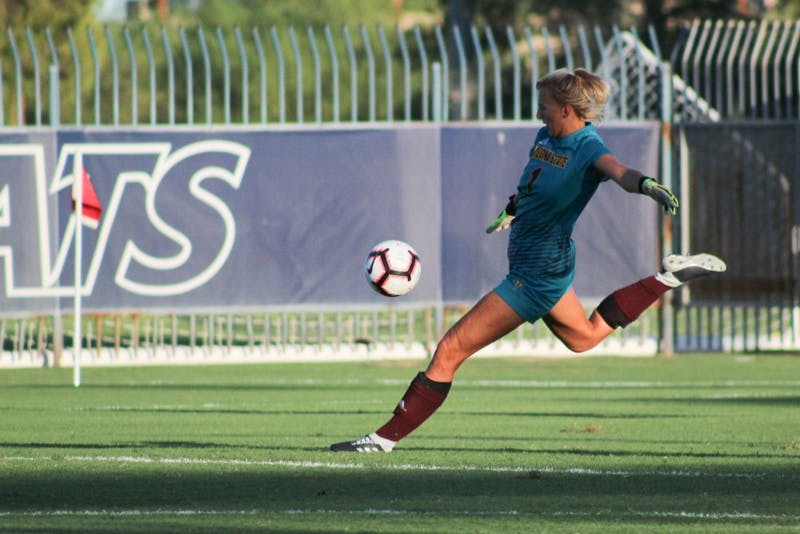 Thinking inside the box: ASU goalkeepers battle for stardom
