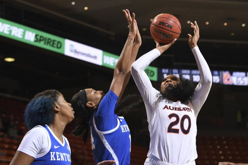 Unique Thompson (20)Auburn women's basketball vs Kentucky on Thursday, February 7, 2019, in Auburn, Ala. Photo: Wade Rackley /Auburn Athletics