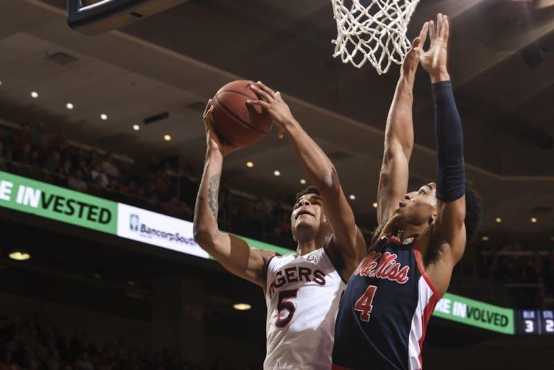 Chuma Okeke (5)Auburn men's basketball vs Ole Miss on Wednesday, February 13, 2019, in Auburn, Ala. Photo: Wade Rackley /Auburn Athletics