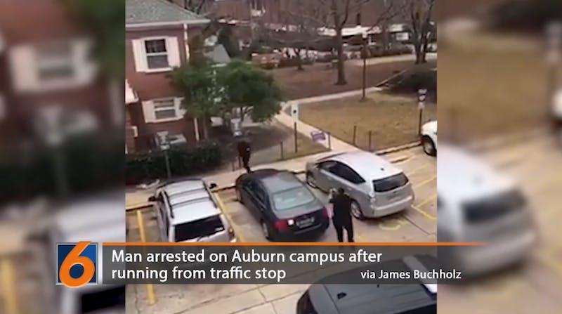 Man arrested near Auburn Student Center