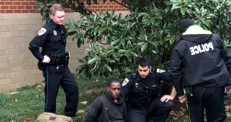 Arrest at Student Center