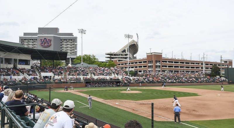 Plainsman Park Auburn baseball vs Mississippi State on Saturday, April 14, 2018, in Auburn, Ala.Photo: Wade Rackley /Auburn Athletics