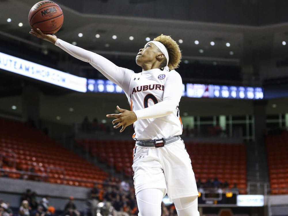 Daisa Alexander (0)Women's Basketball vs. St. Joseph's on Sunday, Nov. 24, 2019, in Auburn, Ala.Cat Wofford/Auburn Athletics