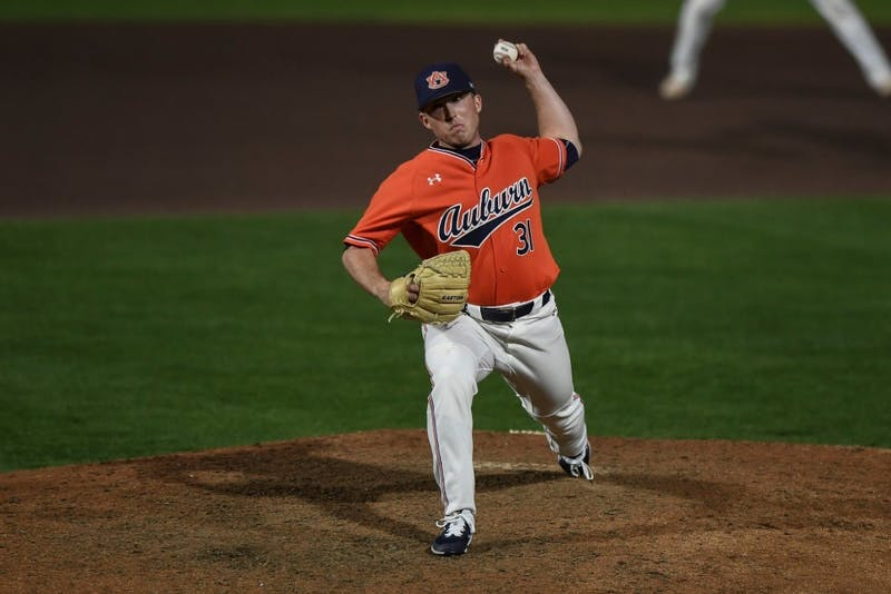 Senior reliever Blake Schilleci had his best outing of the season against Georgia Tech on Tuesday.