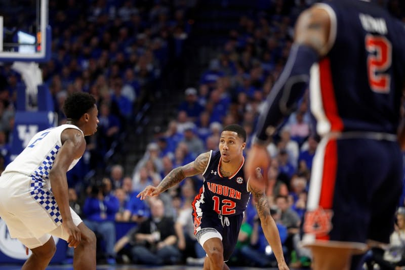 J'Von McCormick (12) at Kentucky – Feb. 23, 2019 Credit: Mark Mahan/Auburn Athletics