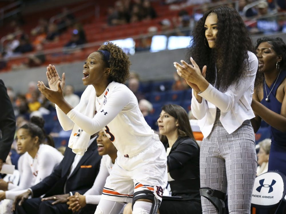 Erica Sanders (3)Women's Basketball vs Missouri on Sunday, Feb. 24, 2019, in Auburn, Ala. Cat Wofford/Auburn Athletics