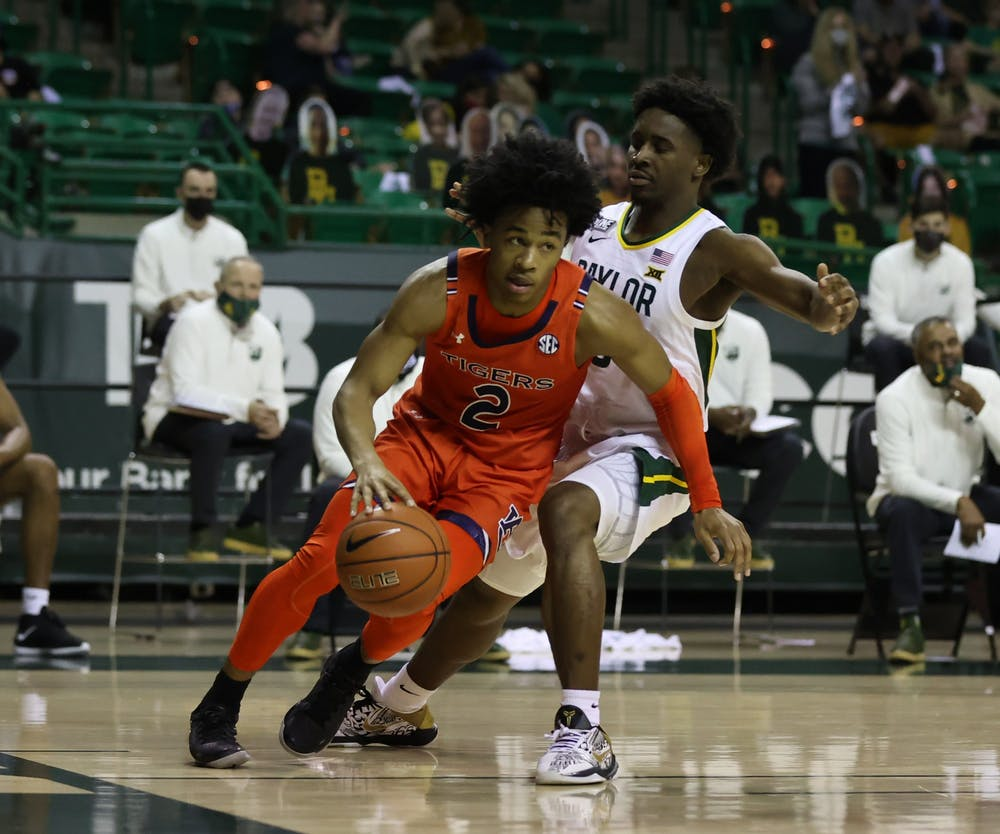 Baylor Auburn Basketball
