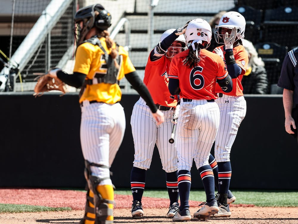 Mizzou Tigers vs. Auburn Tigers at Mizzou Softball Stadium in Columbia, MO. on Sunday, March 28, 2021.