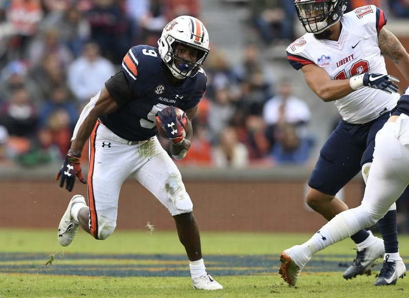 Kam Martin in the first half. Liberty at Auburn on Saturday, Nov 17, 2018 in Auburn, Ala.