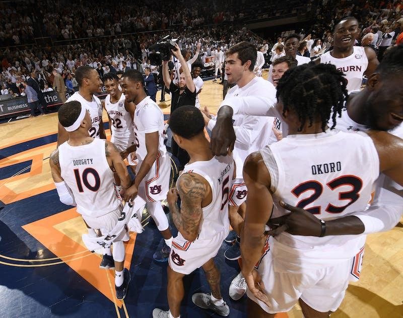 Auburn wins 75-66.AU MBB v Kentucky on Saturday, Feb. 1, 2020 in Auburn, Ala. Todd Van Emst/AU Athletics