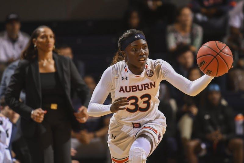 Janiah McKay (33) Auburn women's basketball vs Grambling State on Tuesday, November 6, 2018, in Auburn, Ala.