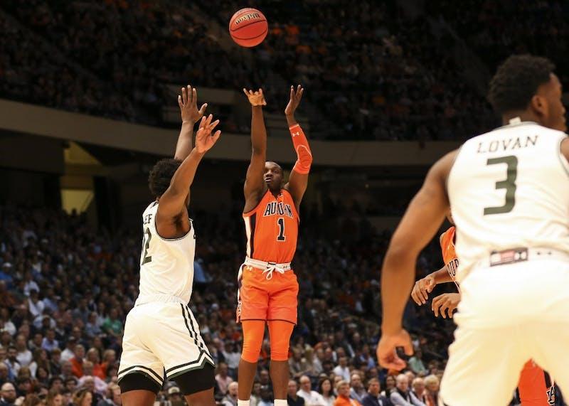 Jared Harper (1)Men's Basketball vs UAB during the Mike Slive Invitational on Saturday, Dec. 15, 2018, in Birmingham, Ala.Cat Wofford/Auburn Athletics