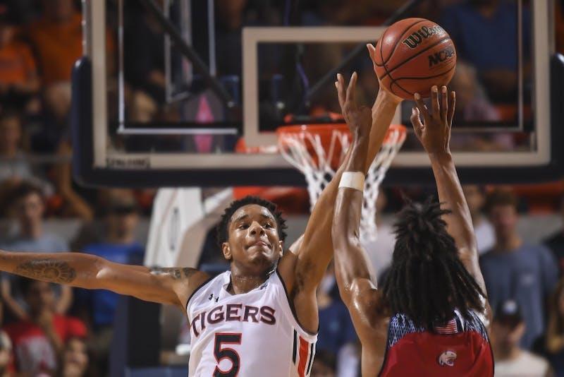 Chuma Okeke (5) Auburn men's basketball vs South Alabama on Tuesday, November 6, 2018, in Auburn, Ala.
