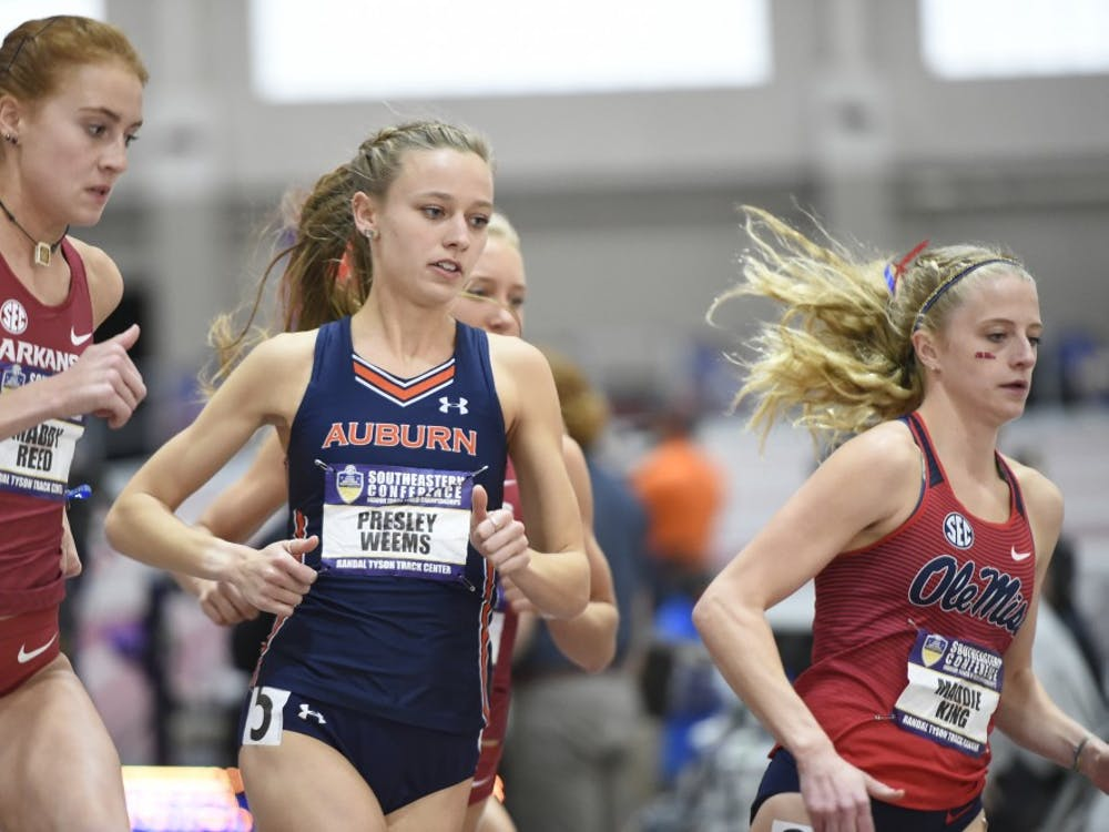 Presley Weems   Auburn Track and Field Athelte