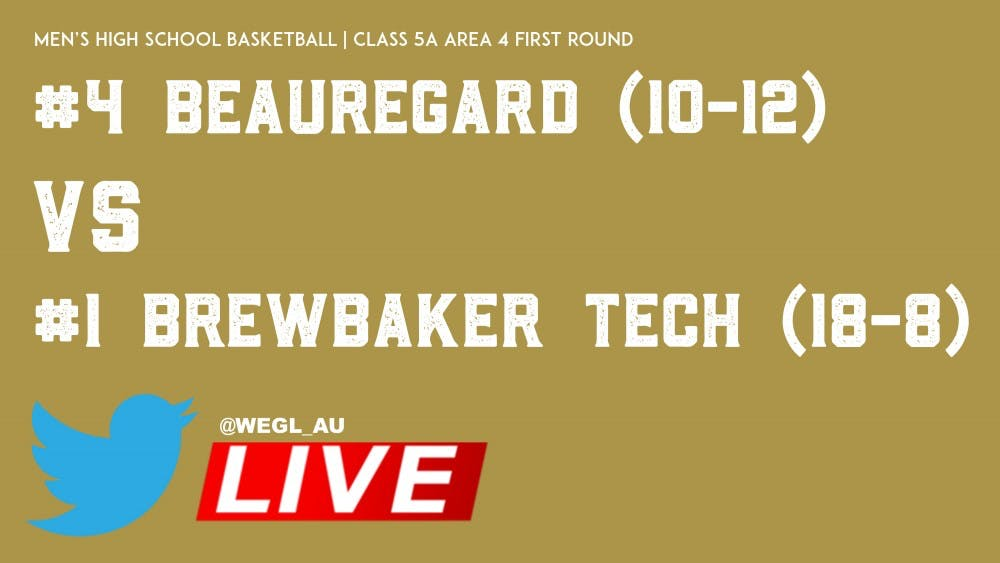 beauregard-brewbaker-area-tournament