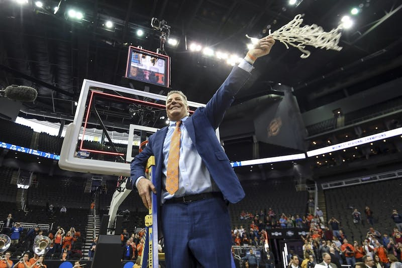 Bruce Pearl Auburn men's basketball vs Kentucky during the NCAA Midwest Regional final on Sunday, March 31, 2019, in Kansas City, Mo.