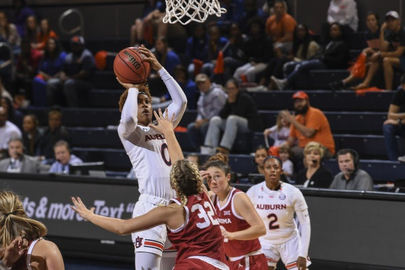 Daisa Alexander (0)Auburn women's basketball vs Oklahoma on Sunday, December 2, 2018, in Auburn, Ala. Photo: Wade Rackley /Auburn Athletics
