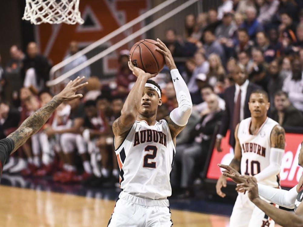 Bryce Brown (2)Auburn basketball vs Arkansas on Wednesday, February 20, 2019, in Auburn, Ala. Photo: Wade Rackley /Auburn Athletics